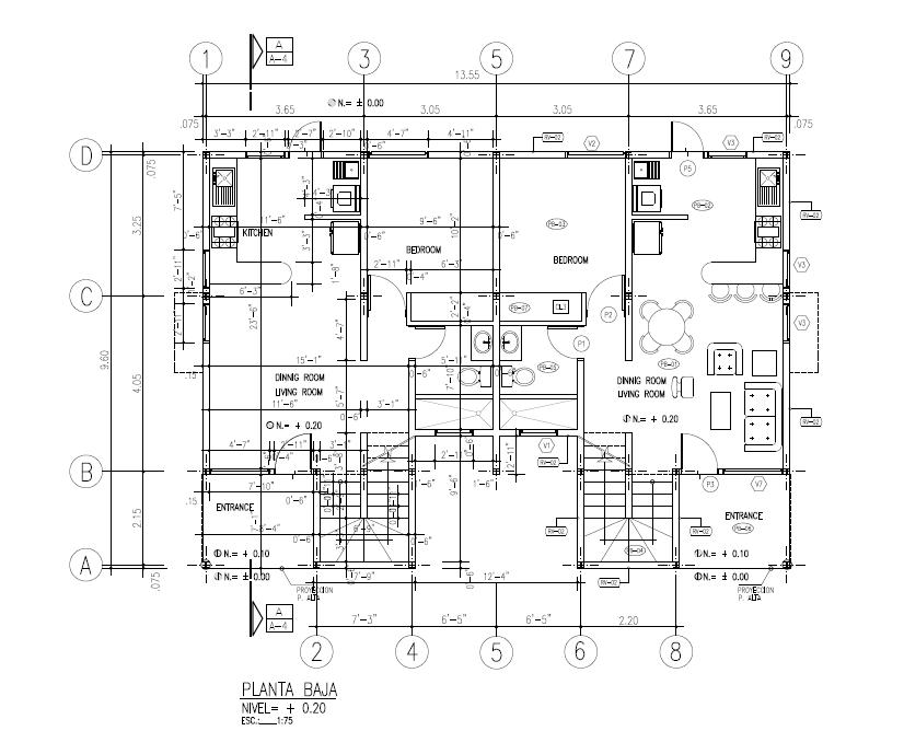 AROA - DUPLEX  Ground Floor 1379 SQ FT  $423,855.00
