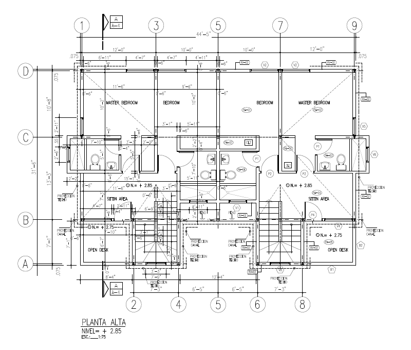 AROA - DUPLEX  Upper Floor 1379 SQ FT  $423,855.00