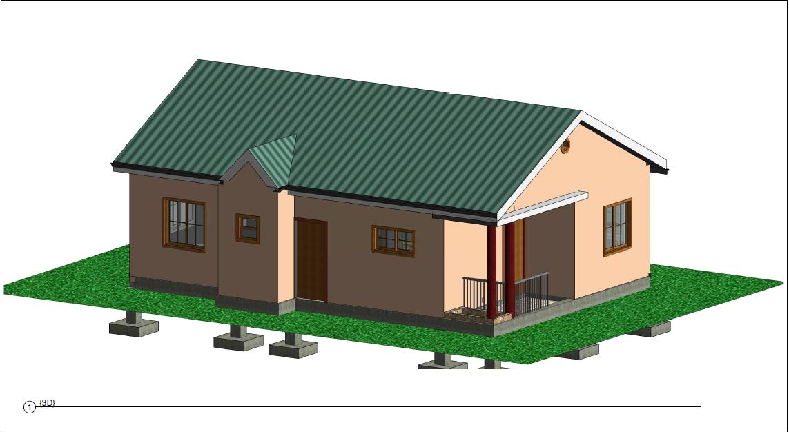 (DRC) Kiwi 2 Bed 2 Bath 3D 921 sq ft $200K ~