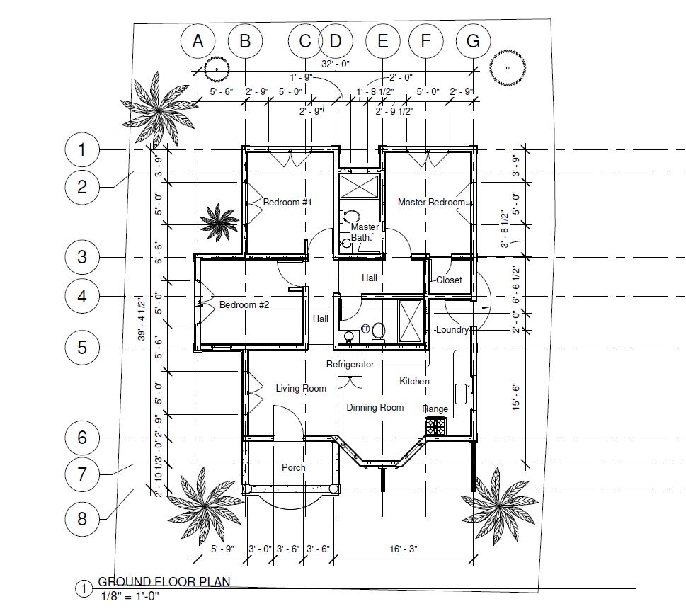 (DRC) Dragon Fruit 3 Bed 2 Bath Floor Plan Floor Plan 1100 sq ft $235k~